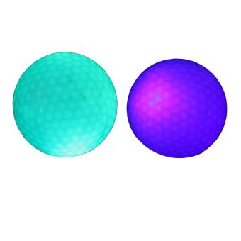 Flashing Electronic Golf Balls 1 Blue + 1 Green (Intl)