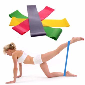 Fancyqube Resistance Band Loop Yoga Pilates Fitness Exercise Workout Training - intl