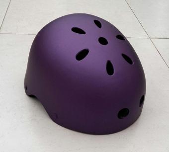 Mũ bảo hiểm xe đạp size M BMX (Tím)
