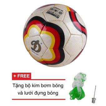 Quả bóng đá Động Lực Cờ Đức UCV 3.49 + Tặng bộ kim bơm bóng và lưới đựng bóng
