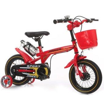 Xe đạp thể thao trẻ em (Đỏ hợp kim)