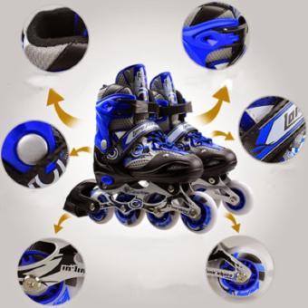 Giày Patin PTB - Xanh Dương nhạt - Size M (35-38)