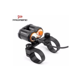 Đèn 2 pha siêu sáng Promend T6 usb