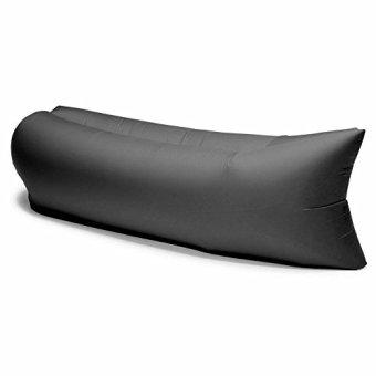 Ghế sofa giường ngủ đệm hơi thông minh đa năng 220x70 cm (Đen)