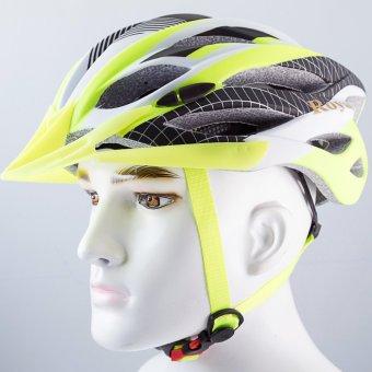 Nón bảo hiểm xe đạp Royal M22 xanh lá đen