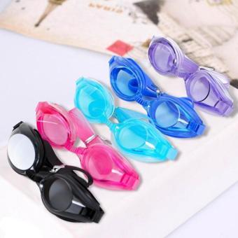 Kính bơi bảo vệ mắt trẻ em Silicon+ Bịt tai + Bịt mũi