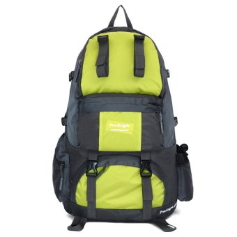50L Outdoor Hiking Camping Waterproof Mountaineering Backpack(Fluorescent) - intl