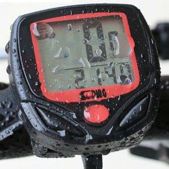 Đồng hồ tốc độ xe đạp giá rẻ SD-548B (Đen)