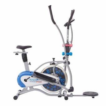 Xe đạp tập bánh đà đặc MOFIT MO 2085 (Xám)