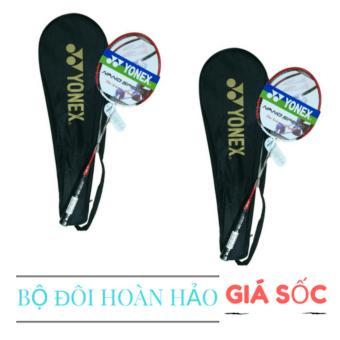 Bộ 2 sản phẩm vợt cao cấp - Vợt cầu lông yonex cước đánh tập cho học sinh - SV - gia đình