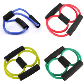 Resistance Training Muscle Elastic Band Weight Control Fitness(Color Random) - intl