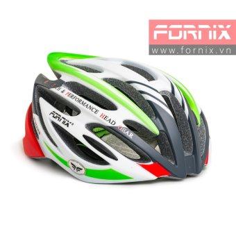 Mũ bảo hiểm đi xe đạp Fornix A02N024L (Xám xanh lá)