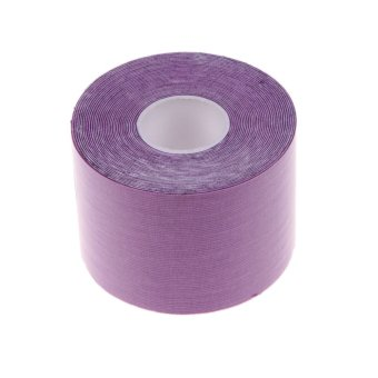 5m * 5cm Sports Muscle Care Tape Elastic Tape (Purple) - INTL