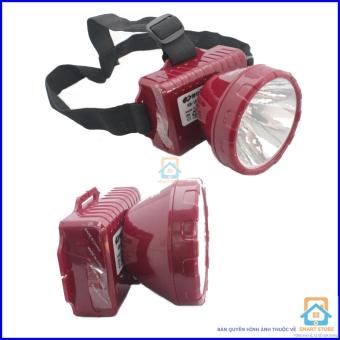 Bộ 2 Đèn pin sạc đội đầu Smart Store KM182 (Đỏ)