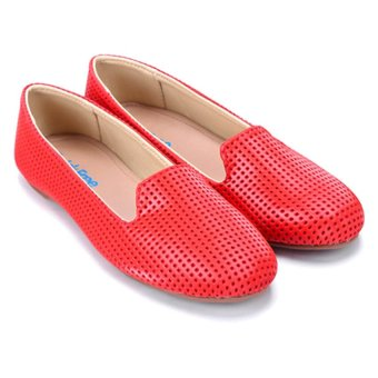 Giày búp bê nữ QuickFree B150102-116 (Đỏ)