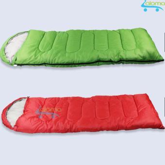 Chăn túi ngủ cá nhân cotton mềm Loyeah 1kg 200x100x3cm (Đỏ)
