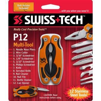 Kìm đa năng SwissTech P12 Pocket Multi-Tool 12-in-1