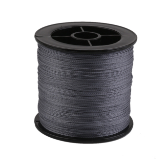300M 0.32mm 50LB Braided Lines Sea Fishing Line Grey - Intl