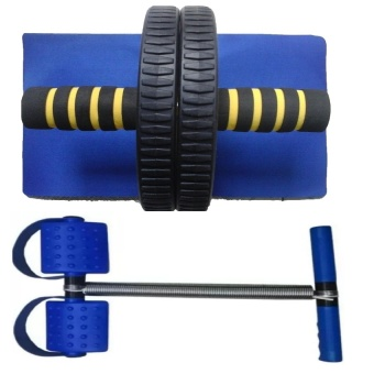 Bộ 2 dụng cụ tập thể dục toàn thân (Xanh)