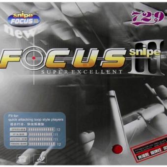 Mặt vợt bóng bàn 729 FOCUS III (Đỏ Đen)