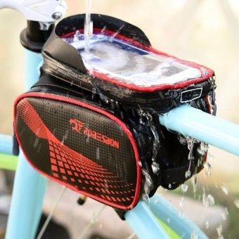 Túi để đồ treo sườn xe đạp, cảm ứng chống nước cao cấp H203