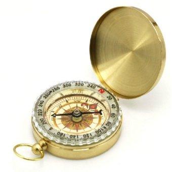 La bàn đồng thau HQ STORE 0TI52 (Vàng)