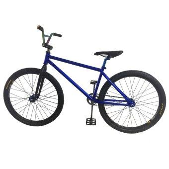 Xe đạp địa hình biểu diễn BMX freestyle (Xanh)