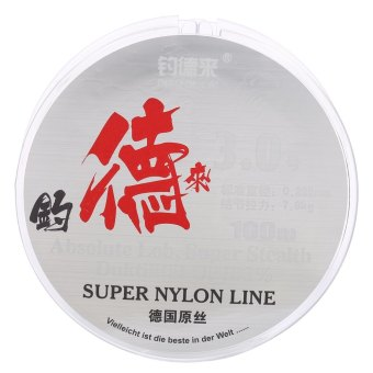 100M Clear Nylon Fishing Line Spool Beading String - intl
