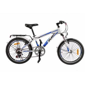 Xe đạp địa hình FURY MS-207 (Trắng xanh )