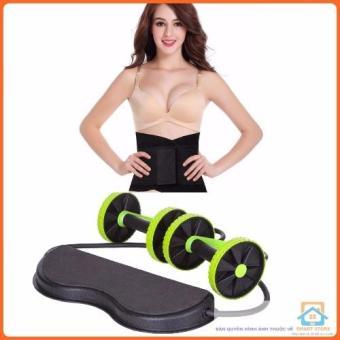 Bộ 2 siêu rẻ Dụng cụ tập giảm mỡ bụng siêu tốc Revoflex và Gen nịt bụng tập gym MB