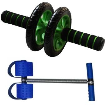 Bộ 2 dụng cụ tập thể dục toàn thân đa năng - SmartBuy (Xanh)