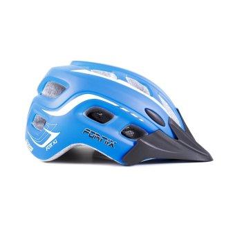 Mũ bảo hiểm đi xe đạp Fornix A02NM38L Size L (Xanh trắng)