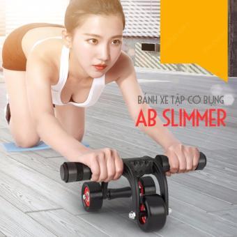 Con lăn tập cơ bụng và chống đẩy 3 bánh AB Slimmer