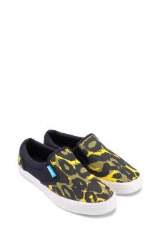 Giày lười nữ QuickFree LIGHTLY W130210-010 (Đen phối Vàng)