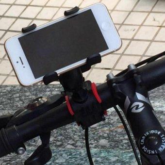 Mua Giá đỡ kẹp điện thoại gắn tay lái xe đạp và moto phượt CAO CẤP H83-ĐEN giá tốt nhất