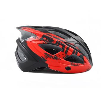 Mũ bảo hiểm đi xe đạp Fornix A02N030M(Đen phối đỏ)
