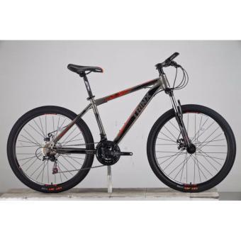Xe đạp địa hình TRINX TX08 2017 Xám đỏ đen