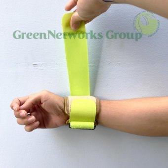 Băng quấn cổ tay cầu lông tennis và tập gym GnG cao cấp