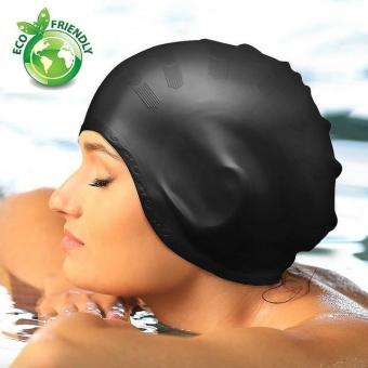 Nón bơi trùm tai thời trang cao cấp POPO Sports