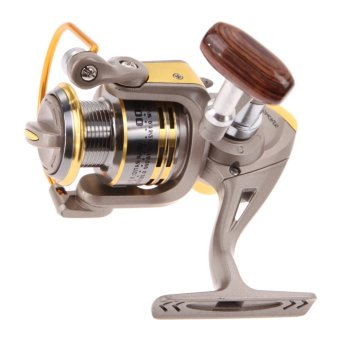Aluminum Spool Spinning Reel 8BB G-ratio 5.1:1 Ball Bearing Fishing Reels - INTL