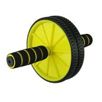 Bánh xe tập thể dục AB WHEEL(Vàng phối Đen)