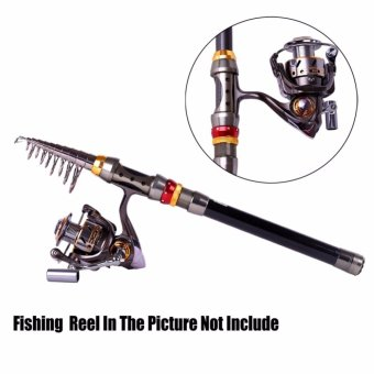 Telescopic Fishing Rod Carbon Travel Spinning Sea Fishing Pole 3.6M Strong Durable Good elasticity - intl