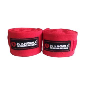 Băng quấn tay tập võ kangrui KB 802 (Đỏ)