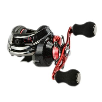 12BB 6.3:1 Right Hand Baitcasting Fishing Reel Bait Casting Reels Red - intl