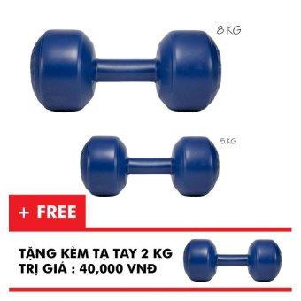 Bộ tạ tay VN 5kg, 8kg (tặng kèm tạ tay 2kg)