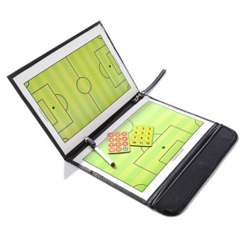 Magnetic Football Soccer Coaching Dry Erase Clipboard Tactical Board - intl