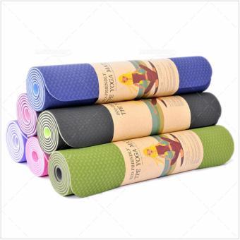 Thảm yoga Đài Loan 2 mặt