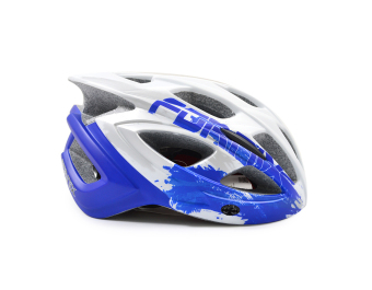 Mũ bảo hiểm đi xe đạp Fornix A02N030M(Trắng phối xanh dương)