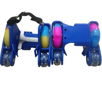 Giày trượt patin 4 bánh phát sáng- Flashing Roller (Xanh)