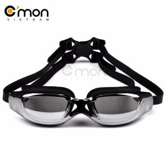 Kinh bơi tráng gương chống sương và tia UV C'MON SG01D (Đen)